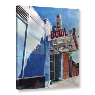 Brushstone Open Lanes Gallery Wrapped Canvas WallArt
