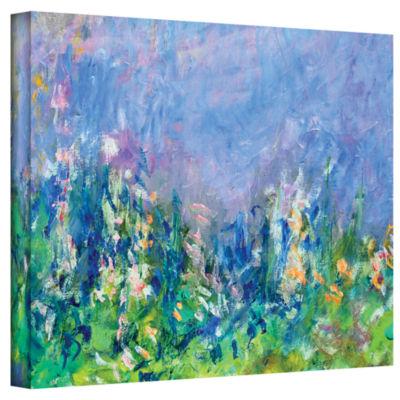 Brushstone Lavender Fields Gallery Wrapped CanvasWall Art