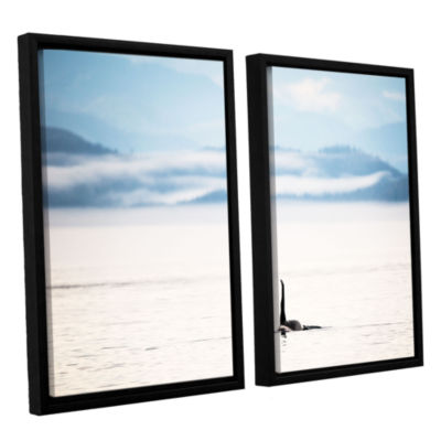 Brushstone Orcha Seascape 2-pc. Floater Framed Canvas Wall Art