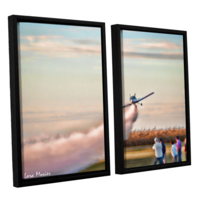 Brushstone Lakefront Airport 2-pc. Floater Framed Canvas Wall Art