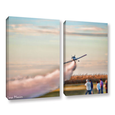 Brushstone Lakefront Airport 2-pc. Gallery Wrapped Canvas Wall Art