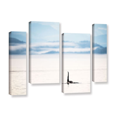 Brushstone Orcha Seascape 4-pc. Gallery Wrapped Staggered Canvas Wall Art