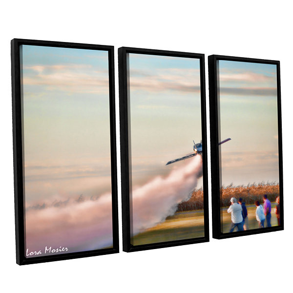 Brushstone Lakefront Airport 3-pc. Floater FramedCanvas Wall Art