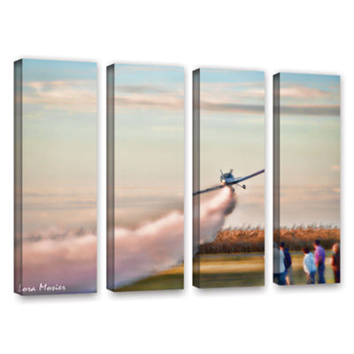 Brushstone Lakefront Airport 4-pc. Gallery WrappedCanvas Wall Art