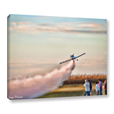 Brushstone Lakefront Airport Gallery Wrapped Canvas Wall Art