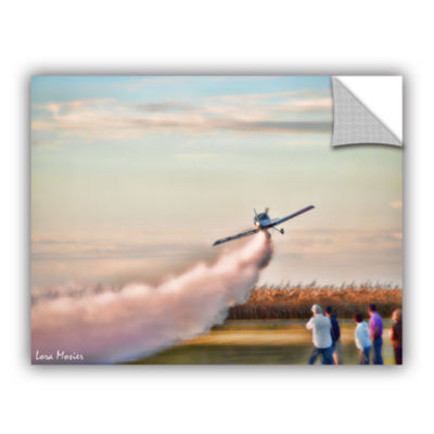 Brushstone Lakefront Airport Removable Wall Decal