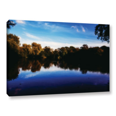 Brushstone Lakeview Gallery Wrapped Canvas Wall Art