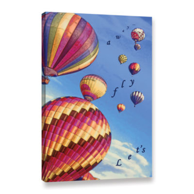 Brushstone Let's Fly Away Gallery Wrapped Canvas Wall Art