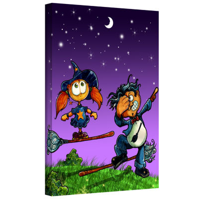 Brushstone Learning To Fly 1 Gallery Wrapped Canvas Wall Art