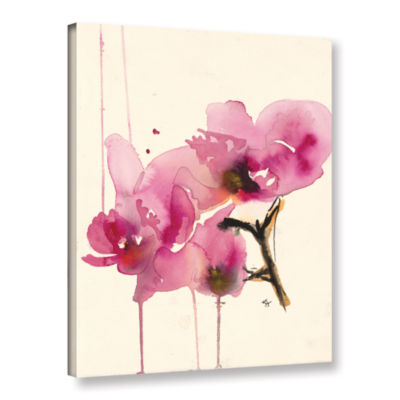 Brushstone Orchids II Gallery Wrapped Canvas WallArt