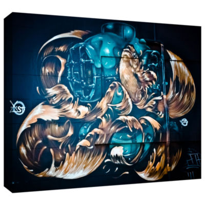 Brushstone Last 23!!-0338 Gallery Wrapped Canvas Wall Art