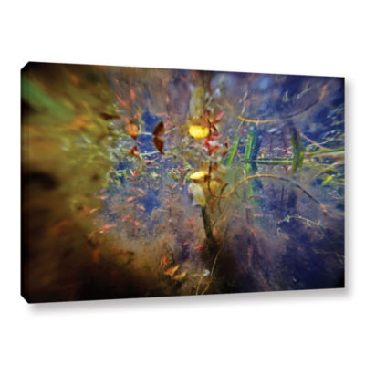 Brushstone Lake Hope Abstract #1 Gallery Wrapped Canvas Wall Art