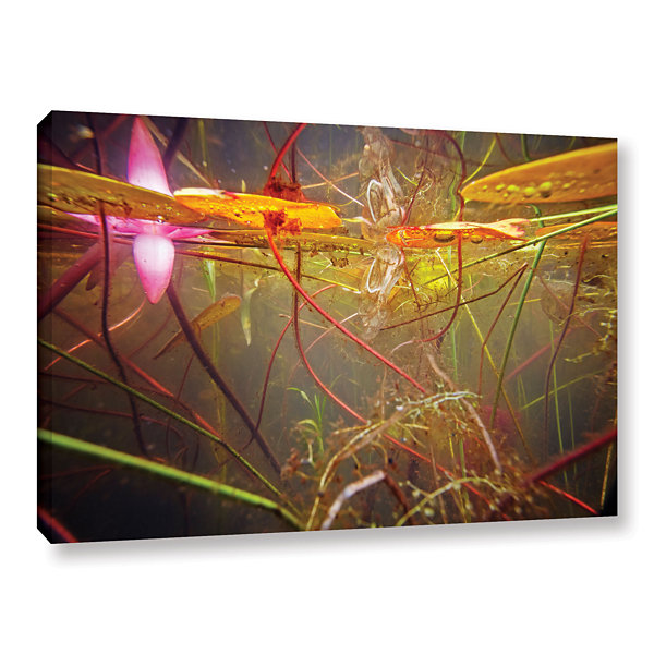 Brushstone Lake Hope Abstract #2 Gallery Wrapped Canvas Wall Art