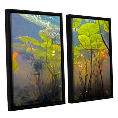 Brushstone Lake Hope UW #1 2-pc. Floater Framed Canvas Wall Art
