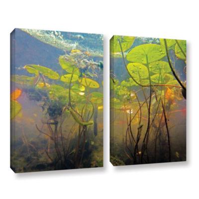 Brushstone Lake Hope UW #1 2-pc. Gallery Wrapped Canvas Wall Art