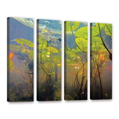 Brushstone Lake Hope UW #1 4-pc. Gallery Wrapped Canvas Wall Art