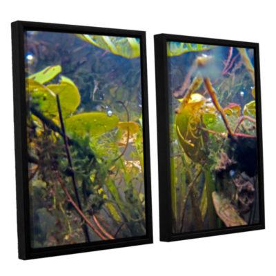 Brushstone Lake Hope UW #6 2-pc. Floater Framed Canvas Wall Art