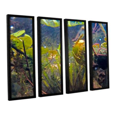 Brushstone Lake Hope UW #6 4-pc. Floater Framed Canvas Wall Art