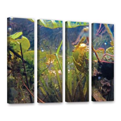 Brushstone Lake Hope UW #6 4-pc. Gallery Wrapped Canvas Wall Art