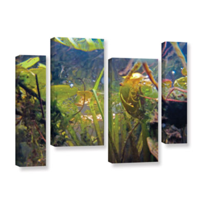 Brushstone Lake Hope UW #6 4-pc. Gallery Wrapped Staggered Canvas Wall Art