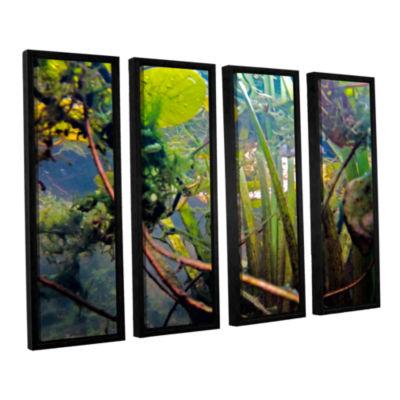Brushstone Lake Hope UW #7 4-pc. Floater Framed Canvas Wall Art