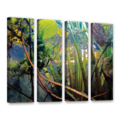 Brushstone Lake Hope UW #7 4-pc. Gallery Wrapped Canvas Wall Art