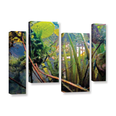 Brushstone Lake Hope UW #7 4-pc. Gallery Wrapped Staggered Canvas Wall Art