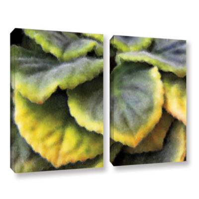 Brushstone Layers 2-pc. Gallery Wrapped Canvas Wall Art