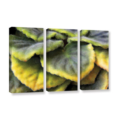 Brushstone Layers 3-pc. Gallery Wrapped Canvas Wall Art