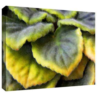 Brushstone Layers Gallery Wrapped Canvas Wall Art