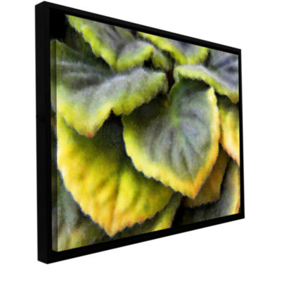 Brushstone Layers Gallery Wrapped Floater-Framed Canvas Wall Art