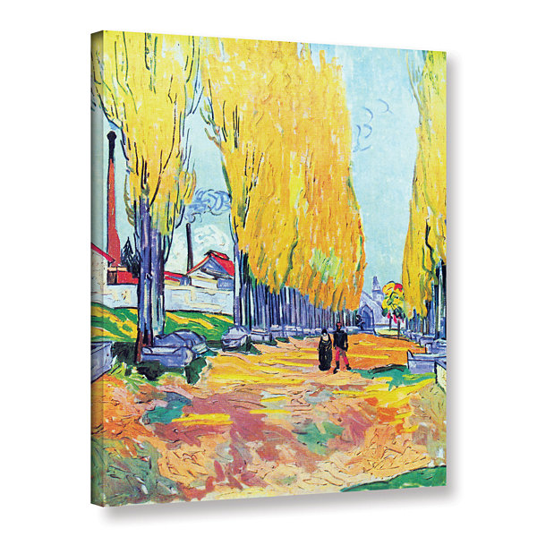 Brushstone Les Alyscamps Gallery Wrapped Canvas Wall Art