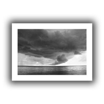 Brushstone Lake Erie Storm Canvas Wall Art