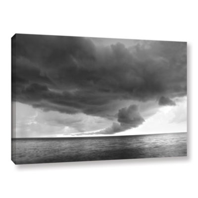 Brushstone Lake Erie Storm Gallery Wrapped CanvasWall Art