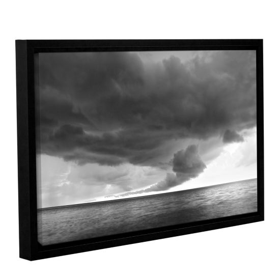 Brushstone Lake Erie Storm Gallery Wrapped Floater-Framed Canvas