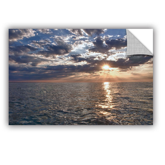 Brushstone Lake Erie Sunset I Removable Wall Decal