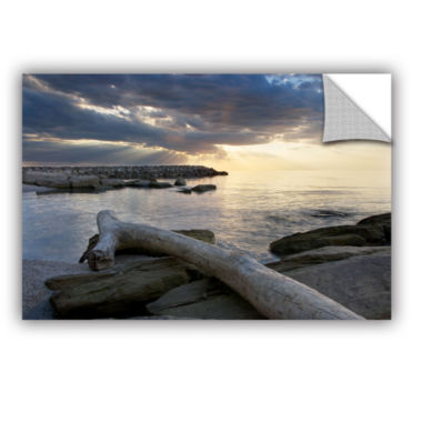 Brushstone Lake Erie Sunset II Removable Wall Decal