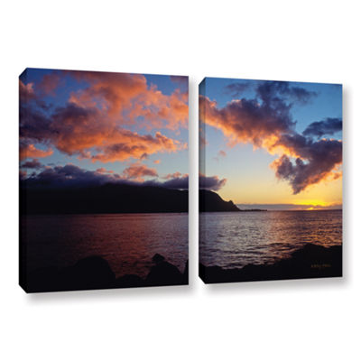 Brushstone Last Light Over Bali Hai 2-pc. GalleryWrapped Canvas Wall Art