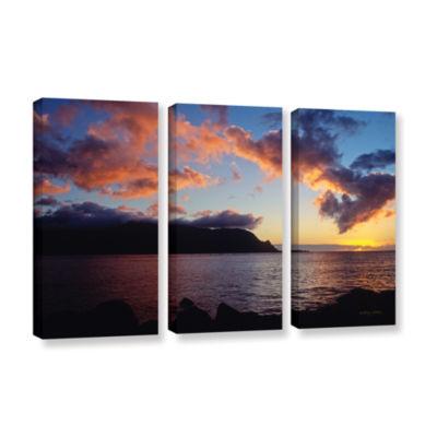 Brushstone Last Light Over Bali Hai 3-pc. GalleryWrapped Canvas Set