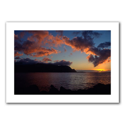 Brushstone Last Light Over Bali Hai Canvas Wall Art