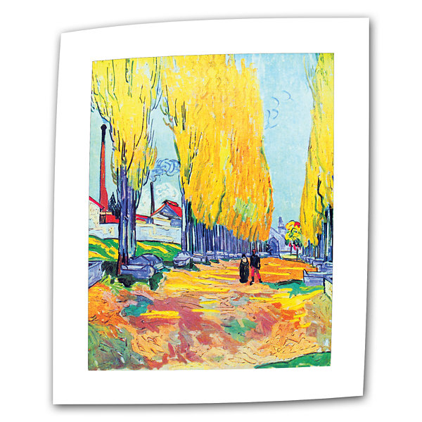 Brushstone Les Alyscamps Canvas Wall Art