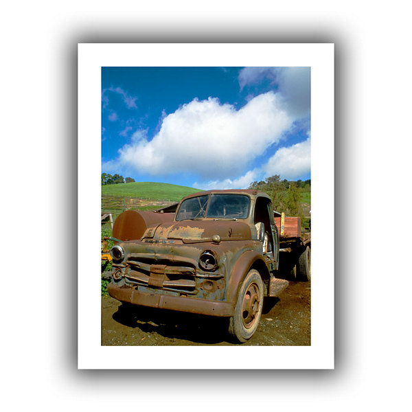 Brushstone Old Truck Canvas Wall Art