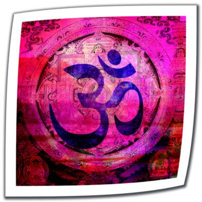Brushstone Om Mandala Canvas Wall Art