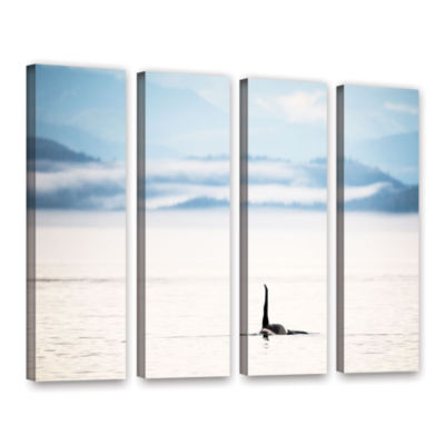 Brushstone Orcha Seascape 4-pc. Gallery Wrapped Canvas Wall Art