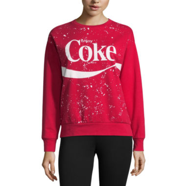 Coke Sweatshirt-Juniors