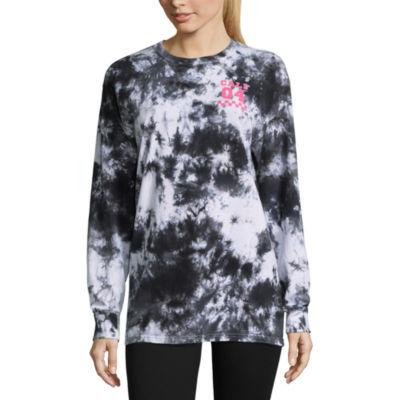 Flirtitude Long Sleeve Cali Graphic T-Shirt