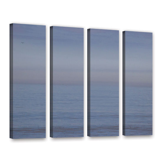 Brushstone Dead Calm 4-pc. Gallery Wrapped Canvas Wall Art