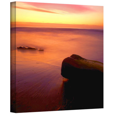 Brushstone Deep Twilight Gallery Wrapped Canvas Wall Art