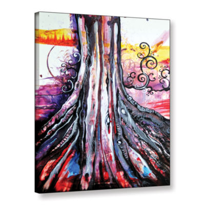 Brushstone Deeply Rooted III Gallery Wrapped Canvas Wall Art