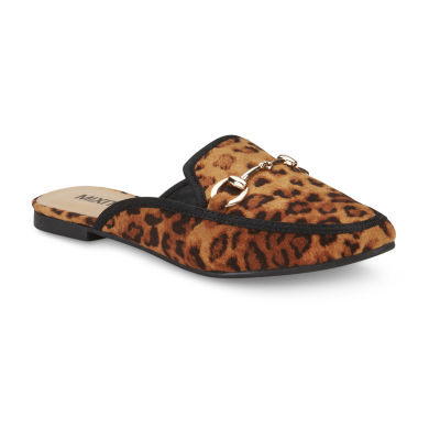 Mixit Leopard Womens Slide Sandals